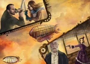 Ilustración zeppelin