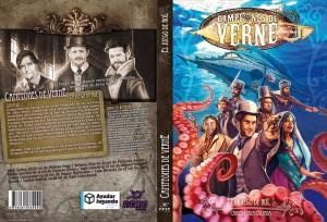 Portada Campeones de Verne